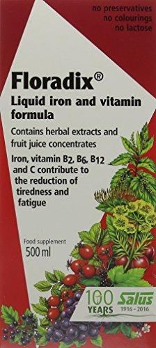 - Floradix Liquid iron and vitamin formula 500ml