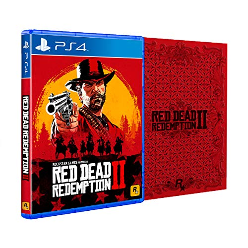 Rockstar Games Red Dead Redemption 2 Steelbook Edition Playstation 4 (Call Of Duty Digital Deluxe Edition Ps4)