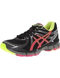 ASICS Women's GT-2000 Trail Running Shoe,Black/Raspberry/Lime,6 B US