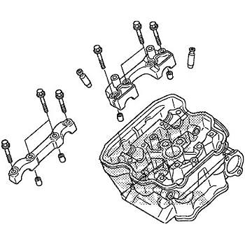 Amazon Com Honda 12010 Krn A80 Cylinder Head Assy Automotive