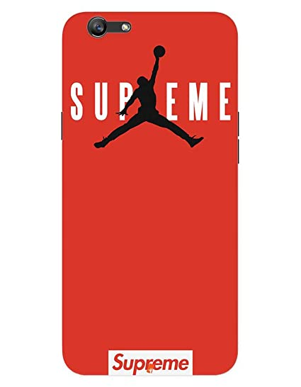 new arrival 9ba7a 1ab6b Supreme Jordan case for Oppo A57: Amazon.in: Electronics