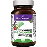 New Chapter Every Woman's One Daily, Women's Multivitamin Fermented with Probiotics + Iron + B Vitamins + Vitamin D3 + Organic Non-GMO Ingredients – 72 ct For Sale