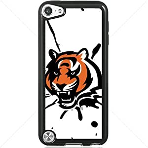 NFL American football Cincinnati Bengals Apple iPod Touch iTouch 5th Generation Hard Plastic Black or White cases (Black)