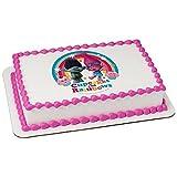 Trolls Licensed Birthday- Edible Cake/Cupcake Party Topper!!! (1/4 sheet)