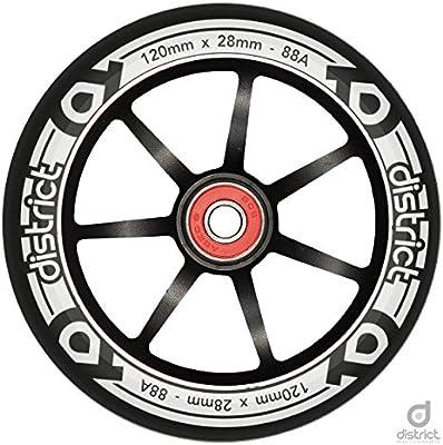 Distrito 120 mm LP Core - Rueda para patinete de aleación de ...