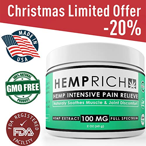 The 10 best relief cream canna hemp 2019 | Allace Reviews