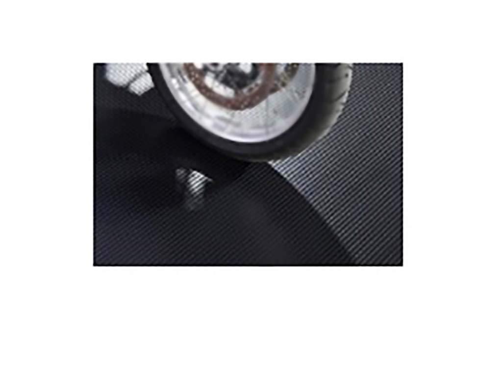 8'6''X22' 55 Mil Ribbed Garage Floor Mat Midnight Black