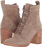 Dolce Vita Women's Rowly Fashion Boot, Dark Taupe Suede, 9.5 Medium US