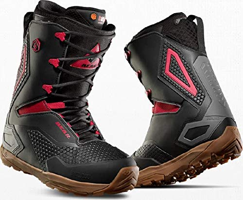 thirtytwo TM-Three Bear Lace Snowboard Boot - Men's Black/Red/Gum, 10.0