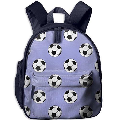 Vivacious Velvet (Love Soccer I Love Playing Soccer Children Durable School Backpack For Toddlers Kids Girls & Books Bookbags)