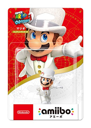 amiibo Mario 【Wedding Style】 (Super Mario Series) (Original Version)