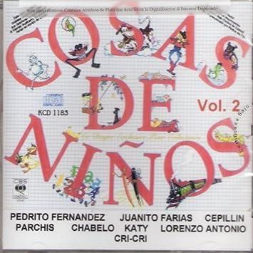 """Cosas De Ninos """"Vol 2 Varios Interpretes"""""""