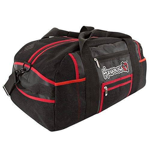 Hayabusa Recast Mesh Gear Bag, Black/Red, 70L