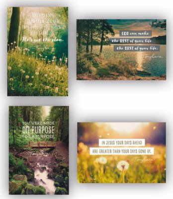 DaySpring Tony Evans Birthday Inspirational Boxed Card (18562)