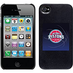 iphone covers Detroit Pistons - Bball design on Black iPhone 6 plus / 4 Thinshield Snap-On Case