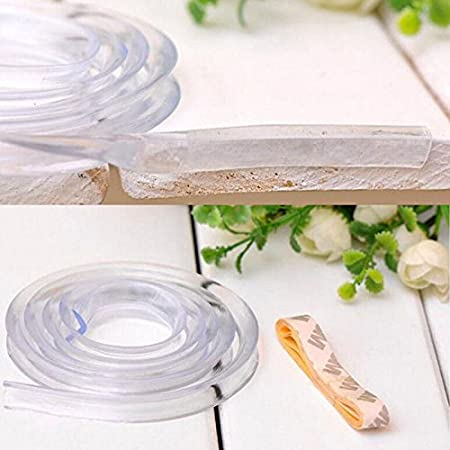 Tira de silicona para proteger los cantos de la mesa de los beb/és.