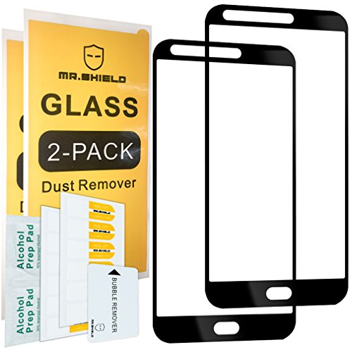 [2-Pack]-Mr Shield for LG Stylo 3 Plus [Japan Tempered Glass] [9H Hardness] [Full Screen Glue Cover] Screen Protector with Lifetime Replacement Warranty