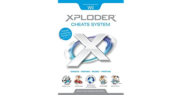 Amazon.com: xploder CHEATS sistema (Wii) por xploder: Video ...