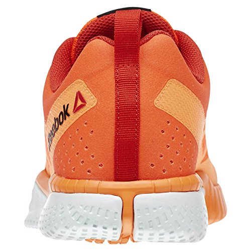 Reebok Zprint Train Zapatillas de deporte, Hombre Rojo / Naranja / Blanco (Atomic Red / Electric Peach / Motor Red / Opal)