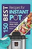 Instant Pot Cookbook Best Recipes: Healthy, Easy, Quickly, Tasty, Vegetarian, Paleo Recipes, Set & Forget Recipes. Power Pressure Cooker Recipes. Instapot recipes.