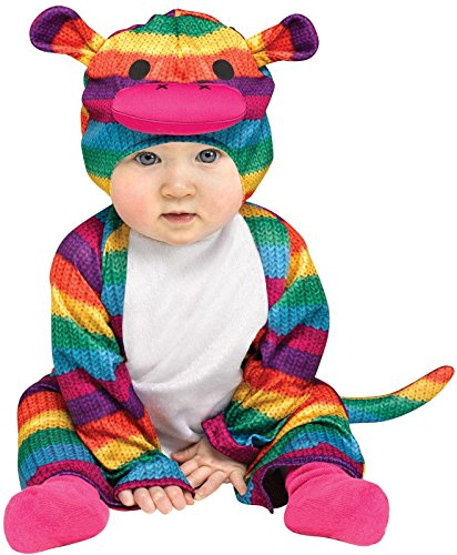 Rainbow Sock Monkey Colorful Halloween Costume,12-24 Months ()