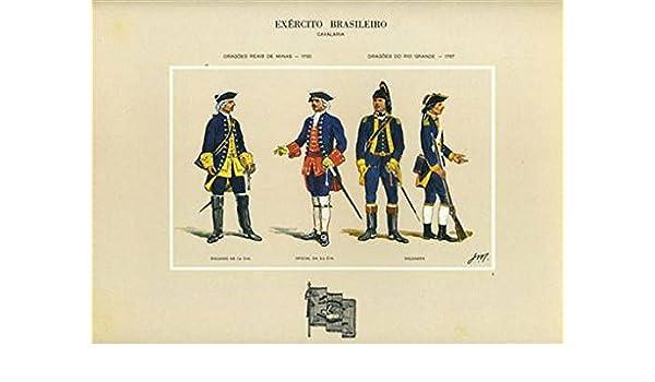 Amazon.com : Brazil Army Dragoes Reais De Minas 1730 Do Rio Grande 1767 Exercito Brasileiro : Everything Else