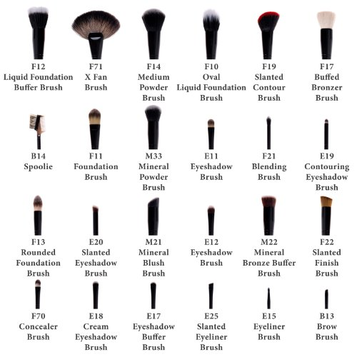 Shany Makeup Brushes And Their Uses With Pictures Makeup