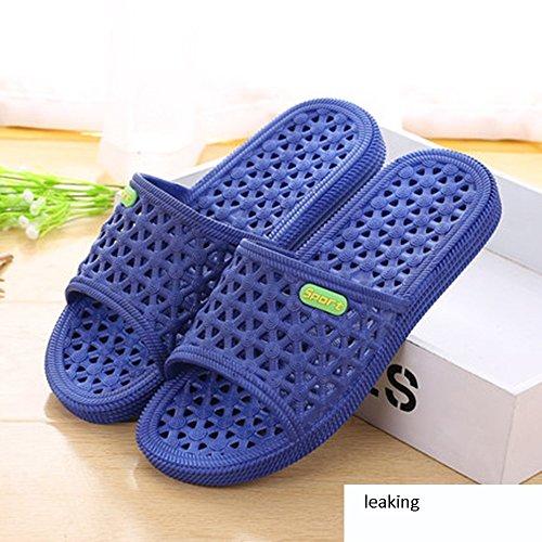 del los de verano antideslizantes señoras Zapatillas plásticas Zapatillas de de de C sandalias deporte del de del baño de tamaño deslizadores gruesas MEIDUO masculinas interior las baño pares baño los pY8RSq