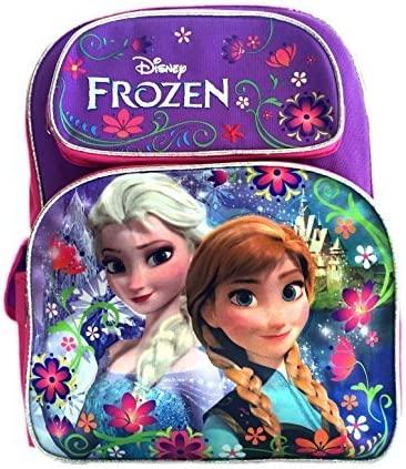 Backpack - Disney - Frozen - Elsa Ana Face New School Bag Girls 639938