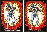 ninja card sleeves - STORM SHADOW - Cobra Ninja - 100 GLOSS Finish G.I. JOE Sleeves by MAX PRO (fits Magic / MTG, Pokemon Cards)