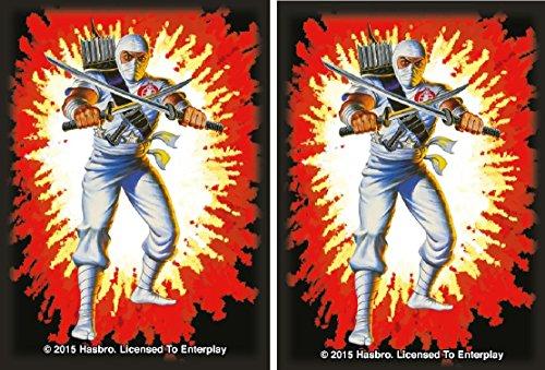 STORM SHADOW - Cobra Ninja - 100 GLOSS Finish G.I. JOE Sleeves by MAX PRO (fits Magic / MTG, Pokemon Cards) - Cobra Ninja Storm Shadow