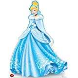 Advanced Graphics Holiday Cinderella Life Size Cardboard Cutout Standup - Disney Holiday Collection