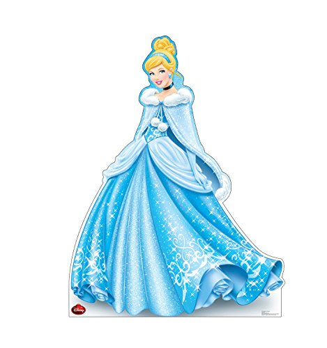Advanced Graphics Holiday Cinderella Life Size Cardboard Cutout Standup - Disney Holiday Collection ()