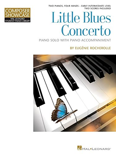 Little Blues Concerto: HLSPL Composer Showcase Two Pianos, Four Hands Early Intermediate Level (Composer Showcase: Hal Leonard Student Piano Library)