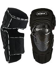 Madbike, ginocchiere protettive per moto, in fibra di carbonio