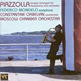 Piazzolla: Tangos arranged for saxophone and