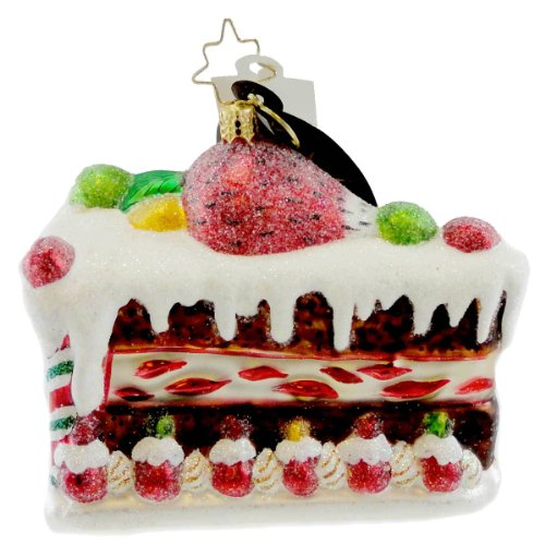 Christopher Radko SWEET TOOTH SURPRISE Blown Glass Ornament Desert