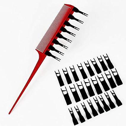 Y10-205 Dientes multiusos Peinado Tinte Peine Tinte para el ...