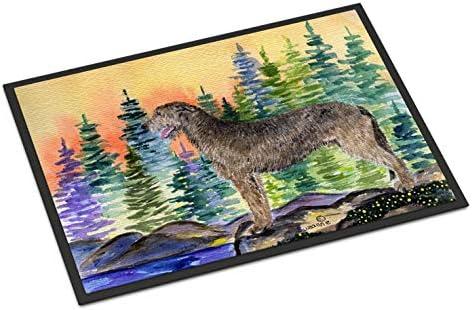 Caroline s Treasures SS8205MAT Irish Wolfhound Indoor Outdoor Mat 18×27 Doormat, 18H X 27W, Multicolor