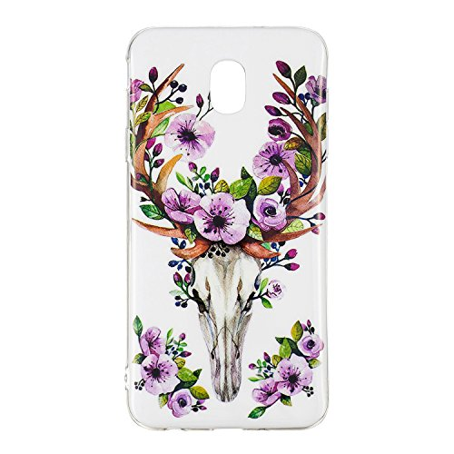 - Samsung Galaxy J3 2018 Case,Luminous Noctilucent Glow in the Dark Case Matching Design Protective Phone Back Cover TPU Shell Case for Samsung Galaxy J3 2018/J3 Achieve/J3 Star (Rosette deer)