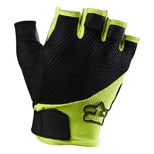 Fox Racing Reflex Gel Short Gloves Flo Yellow, M - Men's