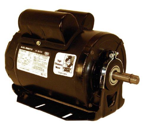 A.O. Smith C621 1-1/2 HP, 1725 RPM, 208-230/115 Volts, 56 Frame, ODP Enclosure, Ball Bearing Capacitor Start Motor Capacitor Start Motors 56 Frame