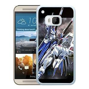 Fashion Designed Gundam 10 White HTC ONE M9 Phone Case