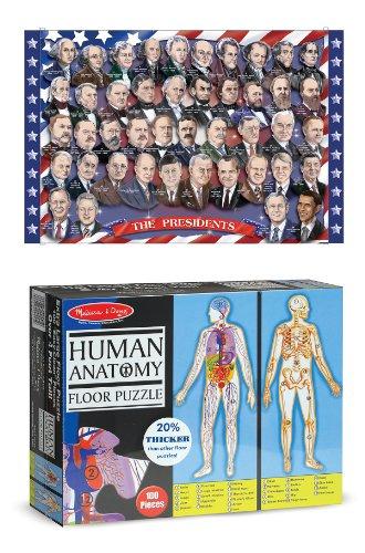 Melissa Amp Doug 2868 American Presidents And 445 Human
