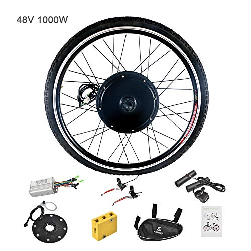 Murtisol Electric Bicycle Motor Conversion Kit-E-Bike Front Wheel 48V 1000W Cycling - Engine Conversion Kits