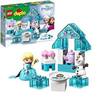 LEGO DUPLO Disney Frozen Toy Featuring Elsa and Olaf's Tea Party 10920 Disney Frozen Gift for Kids and Tod