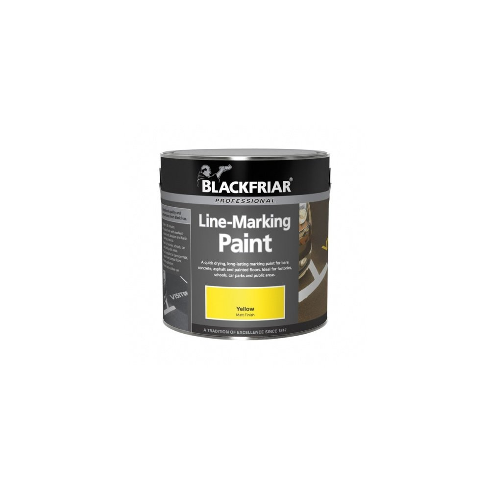 1 l Jaune pour route Peinture pour marquage au sol Blackfriar