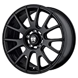 MOTEGI MR118 MATTE BLACK MR118 17x8 5x120.00 MATTE BLACK (32 mm)