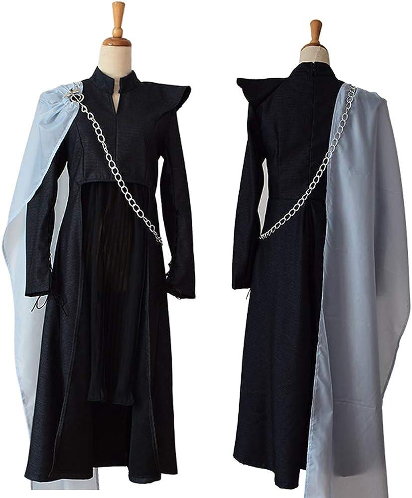 Queen Daenerys Targaryen Disfraz de Cosplay Traje de Mujer para ...