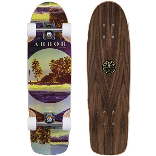 Stainless Arbor - Fireball Arbor x Supply Co. Longboard Skateboards (Various Models) (Pilsner - Photo (28